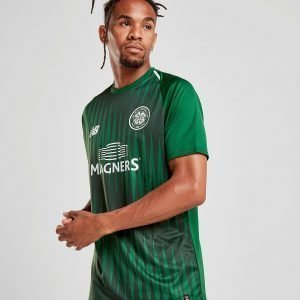 New Balance Celtic Fc 2018/19 Pre Match Shirt Vihreä