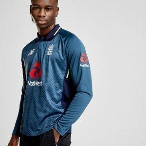 New Balance Ecb Odi Long Sleeve Shirt Sininen