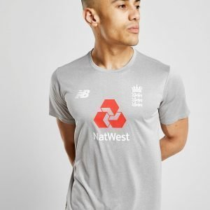 New Balance Ecb Training Cotton T-Shirt Harmaa