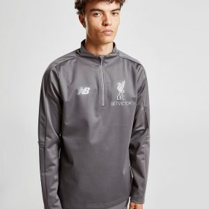 New Balance Liverpool Fc 1/4 Zip Tech Top Harmaa