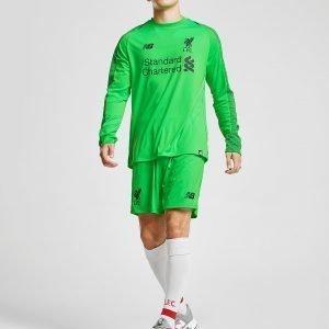 New Balance Liverpool Fc 2018/19 Away Goalkeeper Paita Vihreä