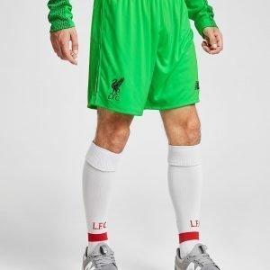 New Balance Liverpool Fc 2018/19 Away Goalkeeper Shortsit Vihreä