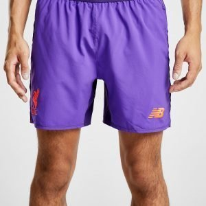 New Balance Liverpool Fc 2018/19 Away Shortsit Violetti
