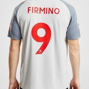 New Balance Liverpool Fc 2018/19 Firmino #9 Third Shirt Harmaa