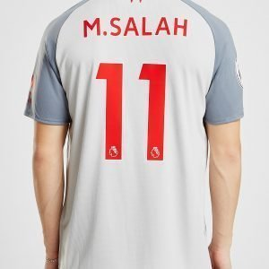New Balance Liverpool Fc 2018/19 Salah #11 Third Shirt Harmaa