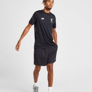 New Balance Liverpool Fc Leisure T-Shirt Musta