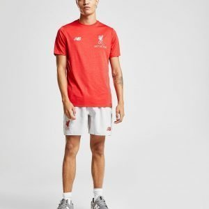 New Balance Liverpool Fc Leisure T-Shirt Punainen