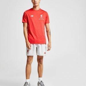 New Balance Liverpool Fc Leisure T-Shirt Punainen