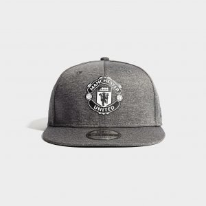 New Era Manchester United Fc 9fifty Cap Lippis Harmaa