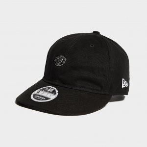 New Era Manchester United Fc 9fifty Cap Lippis Musta