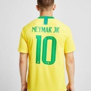 Nike Brazil 2018/19 Neymar #10 Home Shirt Keltainen
