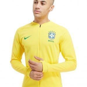Nike Brazil Anthem Jacket Keltainen