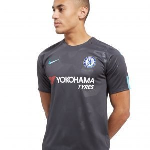 Nike Chelsea Fc 2017 / 18 Third Shirt Anthracite