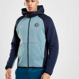 Nike Chelsea Fc Tech Hoodie Sininen