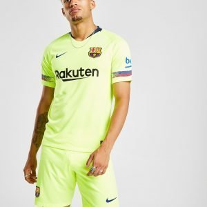 Nike Fc Barcelona 2018/19 Away Shorts Volt