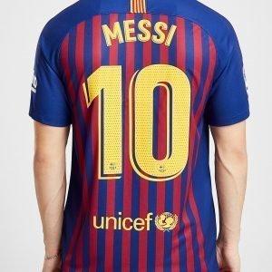 Nike Fc Barcelona 2018/19 Messi #10 Kotipaita Sininen