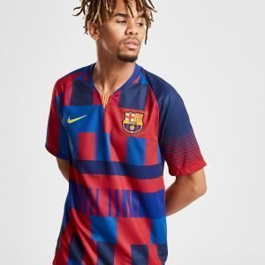 Nike Fc Barcelona 20th Anniversary Shirt Sininen