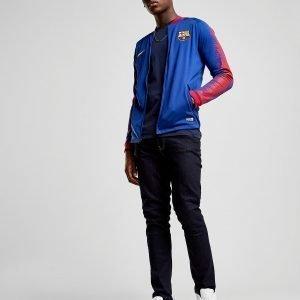 Nike Fc Barcelona Anthem Jacket Sininen