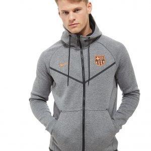 Nike Fc Barcelona Tech Hoodie Harmaa