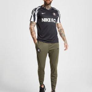 Nike Fc Tape Track Pants Khaki / Black