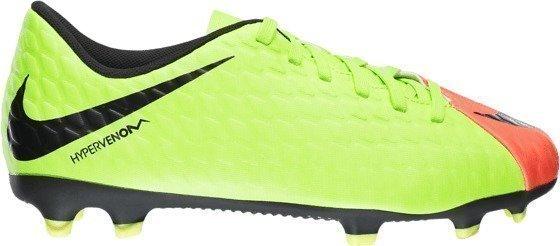 Nike Hypervenom 3 Phade Fg Jr Jalkapallokengät