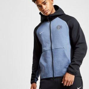Nike Inter Milan Fc Tech Hoodie Sininen