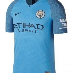 Nike Manchester City 18 / 19 Home Vapor Shirt Sininen