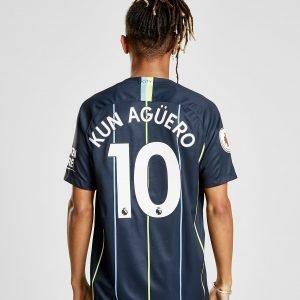 Nike Manchester City 2018/19 Aguero #10 Vieraspaita Laivastonsininen