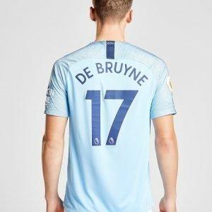 Nike Manchester City 2018/19 De Bruyne #17 Kotipaita Sininen