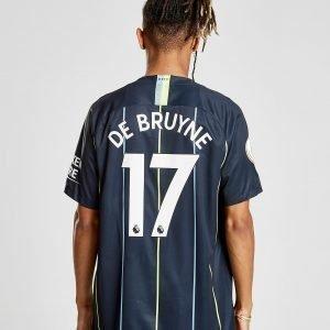 Nike Manchester City 2018/19 De Bruyne #17 Vieraspaita Laivastonsininen