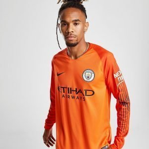 Nike Manchester City 2018/19 Home Gk Shirt Oranssi