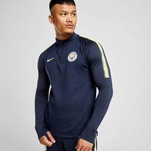 Nike Manchester City 2018/19 Squad Drill Top Sininen