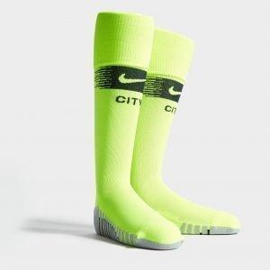 Nike Manchester City Fc 2018/19 Away Socks Vihreä