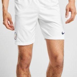 Nike Manchester City Fc 2018/19 Kotishortsit Valkoinen