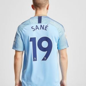 Nike Manchester City Fc 2018/19 Sane #19 Home Shirt Sininen