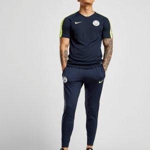 Nike Manchester City Fc 2018/19 Squad Shirt Sininen