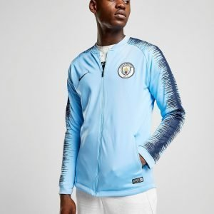 Nike Manchester City Fc Anthem Jacket Sininen