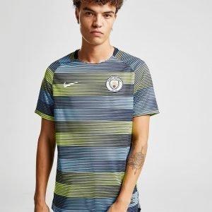 Nike Manchester City Fc Dri-Fit Squad Top Laivastonsininen