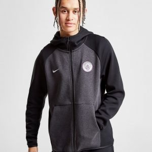 Nike Manchester City Fc Tech Hoodie Musta