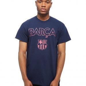 Official Team Barcelona Fc T-Shirt Sininen