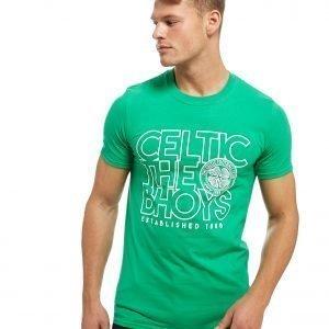 Official Team Celtic The Bhoys T-Shirt Vihreä