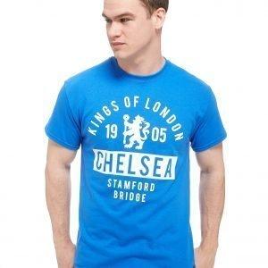 Official Team Chelsea Fc Kings T-Shirt Royal Blue
