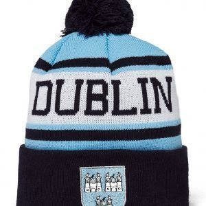 Official Team Dublin Beanie Hat Sky Blue