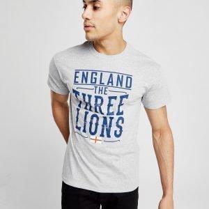 Official Team England Three Lions T-Shirt Harmaa