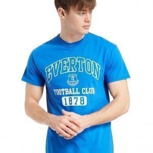 Official Team Everton F.C 1878 T-Shirt Royal Blue