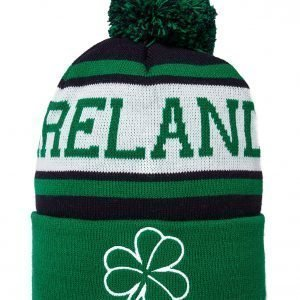 Official Team Ireland Beanie Hat Vihreä