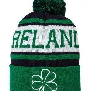 Official Team Ireland Beanie Hat Vihreä