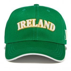 Official Team Ireland Cap Vihreä