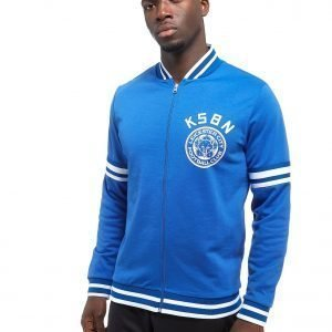 Official Team Leicester City Kasabian Track Top Sininen