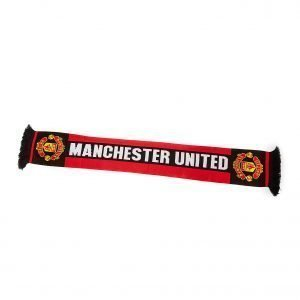 Official Team Manchester United Scarf Punainen